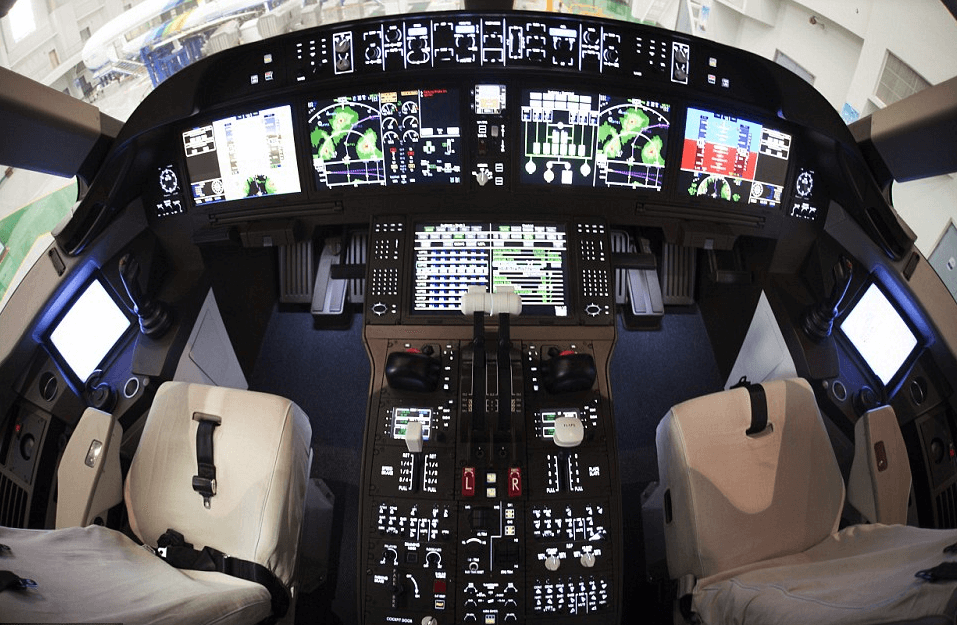 Exhibit 8: Inside China's C919 SuperJet