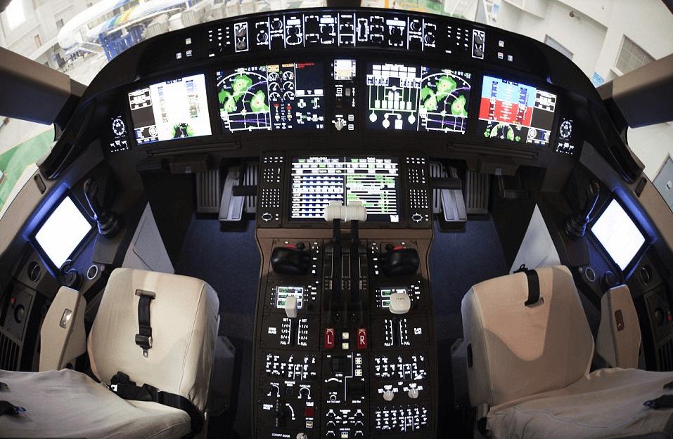 Exhibit 8: Inside China's C919 SuperJet